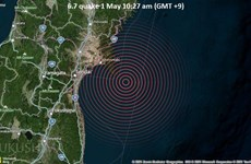 Nhật Bản: Nhiều địa phương ghi nhận rung chấn sau động đất