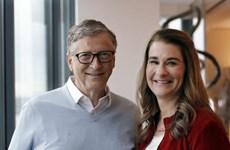 Vợ chồng tỷ phú Bill Gates thông báo ly hôn sau 27 năm chung sống