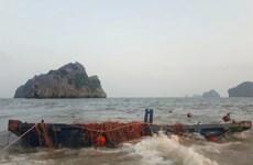 Đồn Biên phòng Cát Bà cứu nạn kịp thời thuyền nan gặp sự cố trên biển