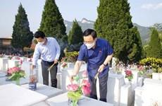 [Photo] Hoạt động của Chủ tịch Quốc hội Vương Đình Huệ tại Hà Giang