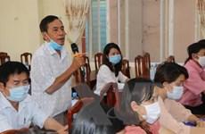 Bình Phước: Cử tri thành phố Đồng Xoài tin tưởng những người ứng cử