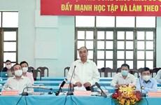 Chủ tịch nước dự hội nghị dành cho các ứng cử viên ĐBQH tại TP.HCM