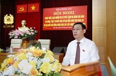 Phát biểu của Chủ tịch QH tại hội nghị bảo đảm an ninh cho Ngày bầu cử