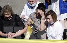 Vụ xả súng tại trường học Nga: CH Tatarstan tưởng niệm các nạn nhân