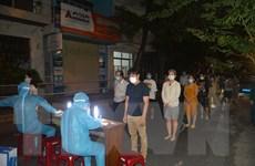Hình ảnh Đà Nẵng khẩn trương truy vết, lấy mẫu xét nghiệm trong đêm