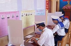 [Video] Huyện đảo tiền tiêu Bạch Long Vỹ bầu cử sớm thành công