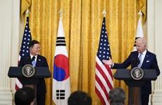 Tổng thống Mỹ Biden và người đồng cấp Hàn Quốc hội đàm thượng đỉnh