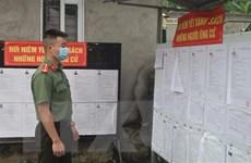 Bảo đảm công tác y tế tại các điểm bỏ phiếu ở tỉnh Cao Bằng