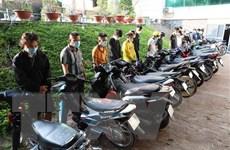 Khởi tố và bắt các đối tượng tụ tập đua xe ở Tây Ninh và Tiền Giang