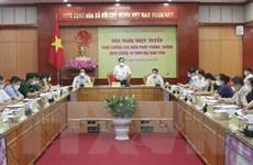 Lạng Sơn họp trực tuyến 3 cấp phòng, chống dịch COVID-19