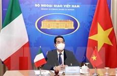 Tăng cường trao đổi đoàn giữa lãnh đạo cấp cao Việt Nam và Italy