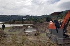 Lâm Đồng: Dân đổ đất tràn lan lấn chiếm Hồ thủy lợi Próh