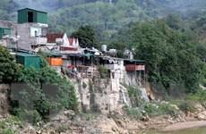 Nghệ An: Hàng trăm hộ dân bên bờ Nậm Mộ thấp thỏm khi mùa lũ về