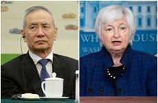 Mỹ-Trung nhất trí tầm quan trọng của mối quan hệ kinh tế song phương