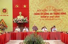 Công bố Quyết định của Bộ Chính trị chỉ định Đảng ủy Công an TW