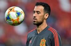 Mắc COVID-19, thủ quân Sergio Busquets rời đội tuyển Tây Ban Nha