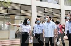 Hà Nội tuyển sinh vào lớp 10: Thực hiện nghiêm túc công tác chống dịch