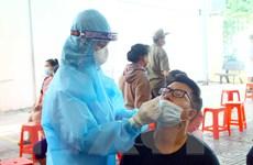 Nghệ An: Lấy mẫu xét nghiệm người dân khu vực có bệnh nhân COVID-19