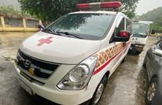 Thông tin về vụ xe cứu thương 'chở khách chui' từ Bắc Ninh về Sơn La