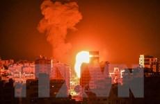 Israel xác nhận không kích các cơ sở quân sự ở Dải Gaza