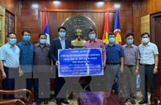 Nhân dân Lào chung tay cùng các địa phương Việt Nam phòng chống dịch