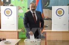 Đảng 'Khế ước dân sự' của Thủ tướng Armenia giành chiến thắng