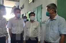 Đoàn công tác Bộ Y tế kiểm tra công tác chống dịch tại Bình Dương