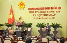 Kỳ họp thứ nhất Hội đồng Nhân dân thành phố Hà Nội khóa XVI