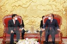 Gìn giữ để mối quan hệ tốt đẹp Việt-Lào mãi mãi trường tồn