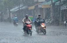 Từ ngày 5-13/7, nhiều khu vực trên cả nước có mưa và dông