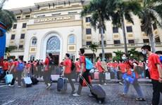 Hơn 300 sinh viên Đại học Y Hà Nội vào Bình Dương hỗ trợ chống dịch