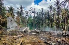Philippines nhờ Mỹ phân tích dữ liệu hộp đen máy bay bị rơi