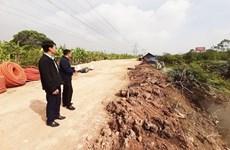 Nhiều công trình đê điều tại Bắc Ninh bị xâm hại nghiêm trọng
