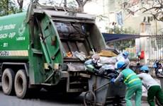 200 công nhân môi trường ở Hà Nội đã được trả nợ lương