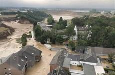 Hơn 100 người đã thiệt mạng do mưa lũ kinh hoàng tại Đức và Bỉ