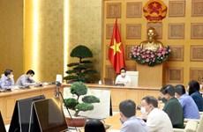 Phó Thủ tướng chủ trì cuộc họp về việc triển khai biện pháp chống dịch