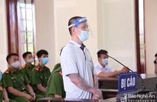 Tuyên phạt Nguyễn Văn Lâm 9 năm tù về tội tuyên truyền chống Nhà nước
