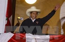 Ứng cử viên cánh tả Pedro Castillo đắc cử Tổng thống Peru