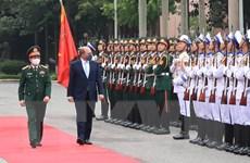 [Photo] Bộ trưởng Quốc phòng Anh thăm chính thức Việt Nam