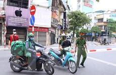 Hà Nội tăng cường xử phạt người ra đường không có lý do chính đáng
