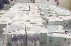 Hà Nội: Thu giữ 1.000 bộ test nhanh SARS-CoV-2 không hóa đơn, chứng từ