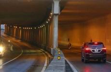 [Video] Hà Nội: Bắt đầu cấm một chiều lưu thông qua hầm Kim Liên