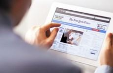 Số người đăng ký bản điện tử của The New York Times thấp nhất kỷ lục