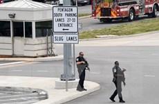 Mỹ xác định đối tượng đâm chết cảnh sát ngoài trụ sở Bộ Quốc phòng