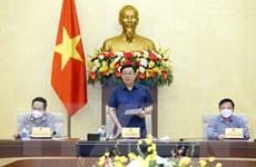 [Photo] Cuộc họp tham gia ý kiến về dự thảo Nghị quyết chống dịch