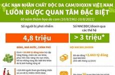 Các nạn nhân chất độc da cam/dioxin Việt Nam được quan tâm đặc biệt