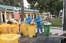 Xử lý rác thải y tế do COVID-19 ở 'điểm nóng' Bình Dương