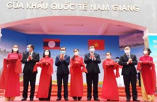 Quảng Nam: Khai trương cặp cửa khẩu quốc tế Nam Giang-Đắc Tà Oọc