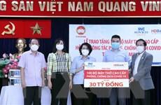 TP Hồ Chí Minh tiếp nhận 100 máy thở cao cấp phục vụ chống dịch