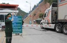 Tháo gỡ khó khăn trong xuất nhập khẩu hàng hóa qua cửa khẩu Tân Thanh